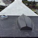 Boat On Grp Slate Tile Roof